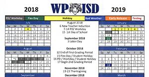 2018-2019 calendar picture