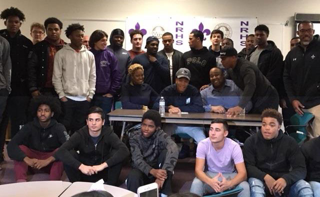 Home page welcome to new rochelle public schools romeo holden signed his letter of intent to attend monmouth university on a football scholarship sciox Choice Image