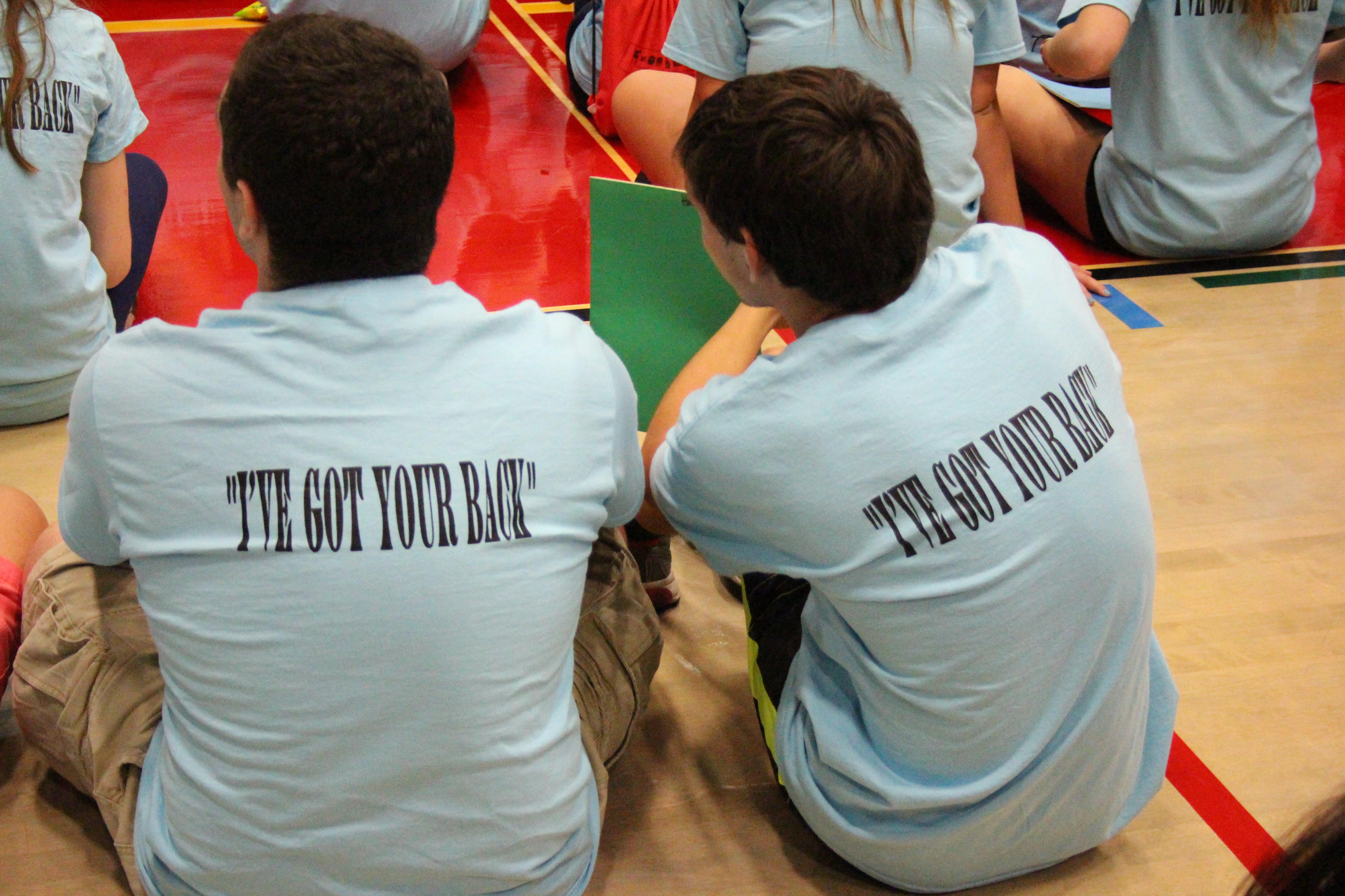 CHS Mentor t-shirt-I've got your back