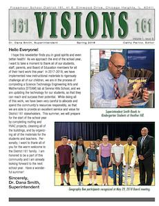 Visions Newsletter Spring 2018