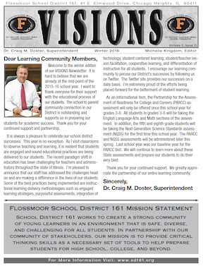 Picture of Winter Newsletter cover