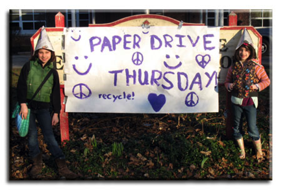 Green Team paper drive