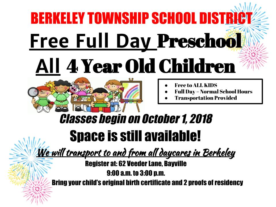 Home Page - Berkeley Township School District