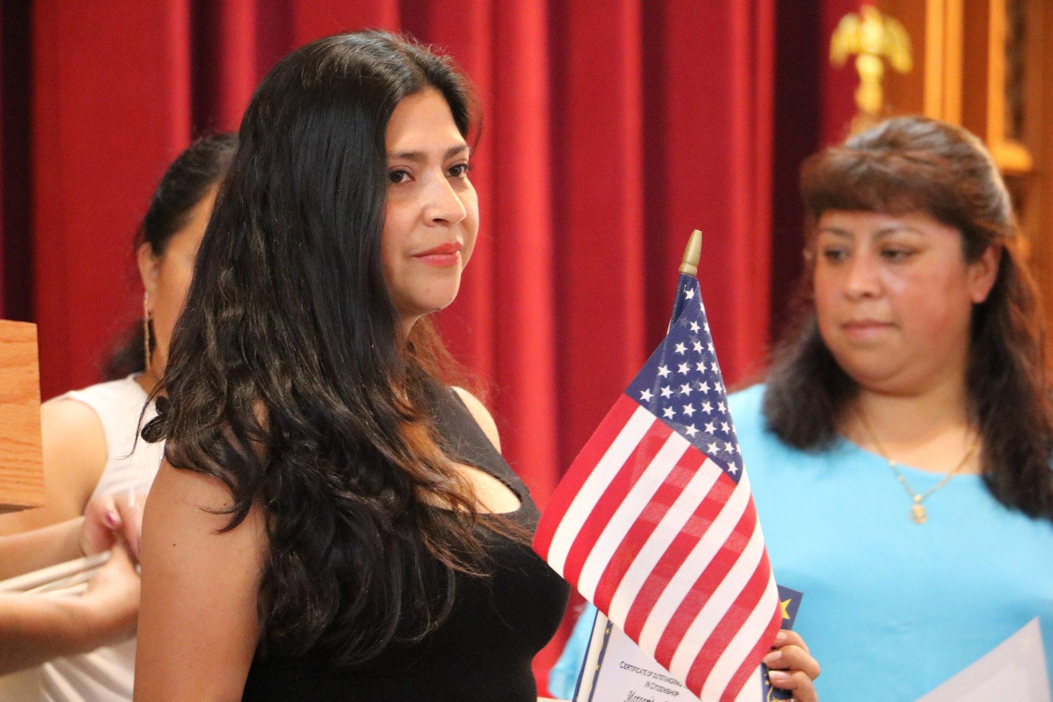 graduate at ALC Citizenship ceremony