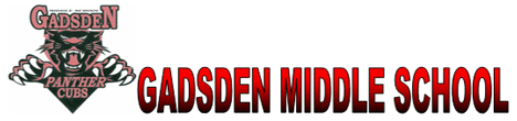 Gadsden Middle School logo