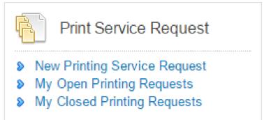 Screenshot- Print Service Request button