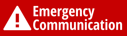 Emergency Notification Icon