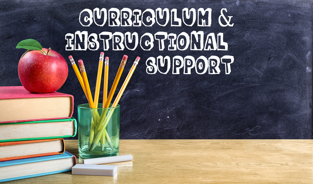 Curriculum & Instructional Support banner