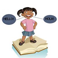 Bilingual girl img