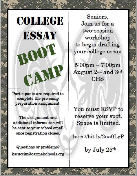 College Boot Camp