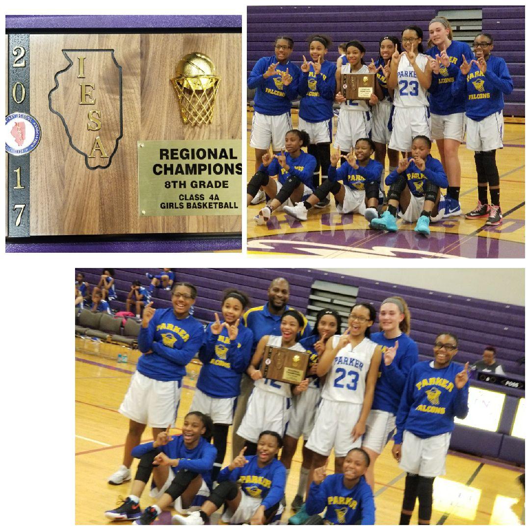 8th Grade Girls Basketball Regional Champs!