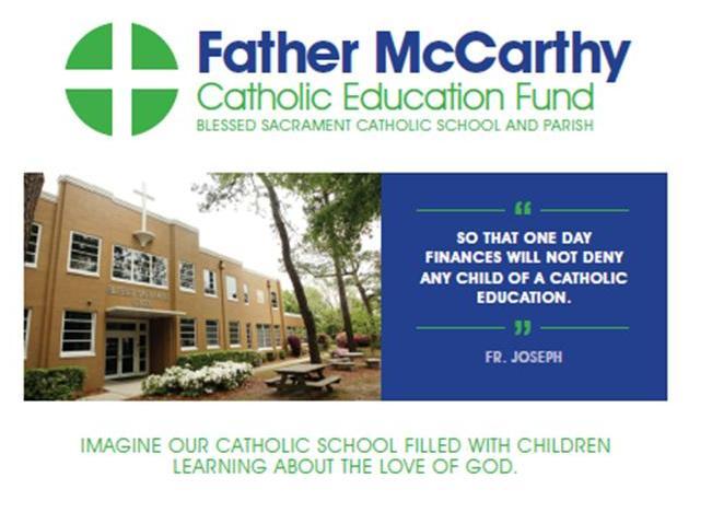 Father McCarthy Scholarship Logo