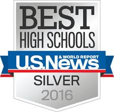 Best High Schools U.S. News Silver Medalist 2016