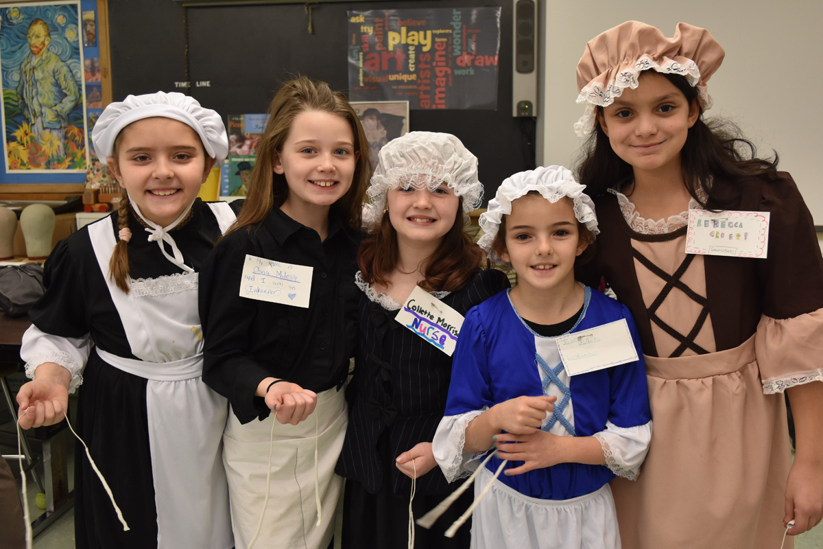 4th Grade celebrates Colonial Day