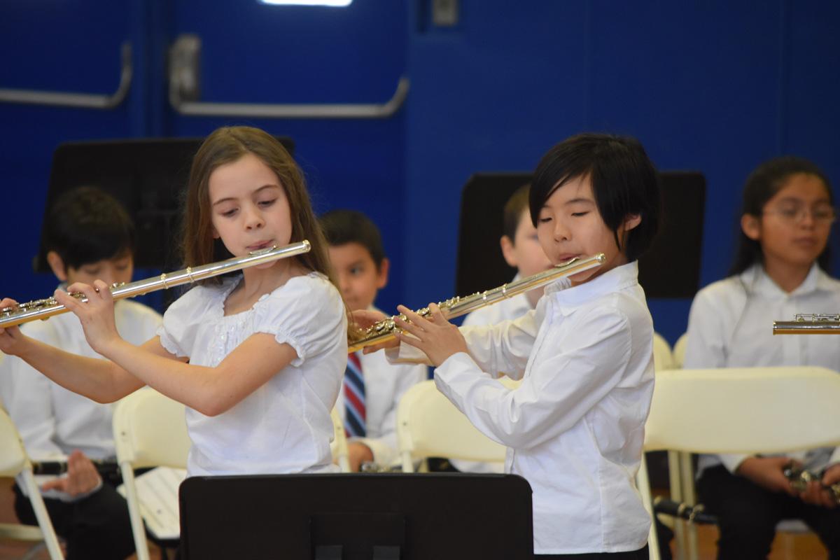 4th Grade Band Recital