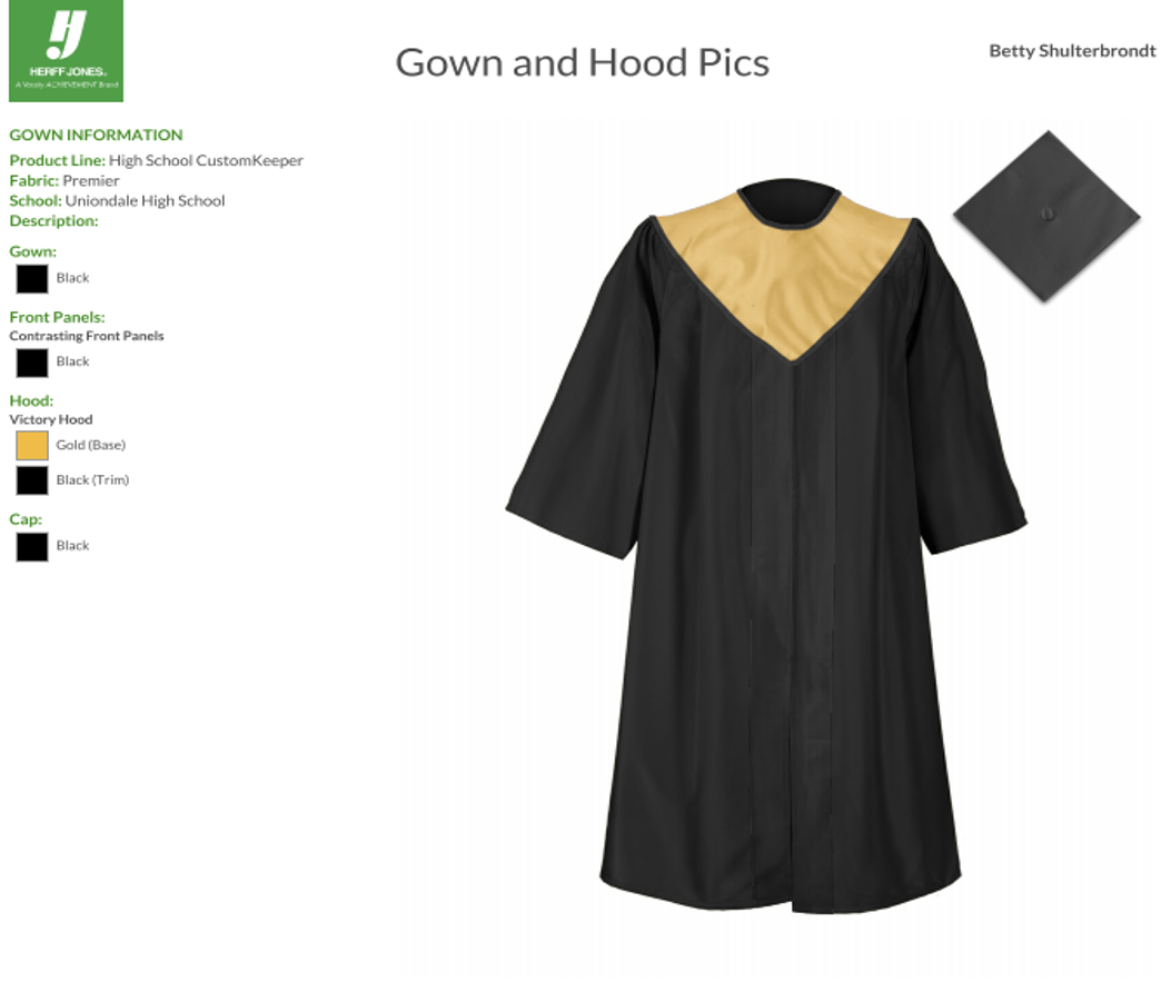 2018 Cap and Gown