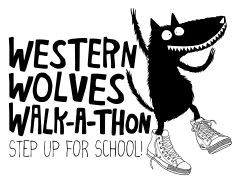 Walk-a-thon! Step up for school!