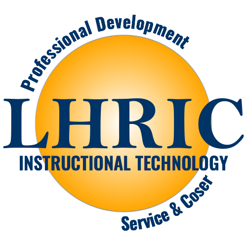 LHRIC- Professional Development & Coser logo