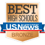 Best high schools bronze logo