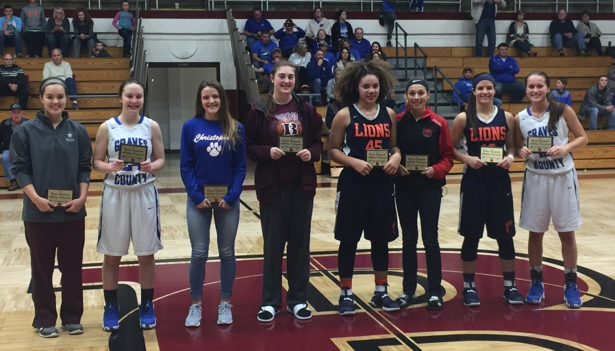 2017 All Tourney Team Rangerette Tournament Alexis Crain