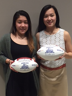 Congratulations To Jenna Guo Girls Swimming and Jackie Shi Girls Bowling on winning the 2016 PSAL  MVP-Scholar Athlete award for their sports.