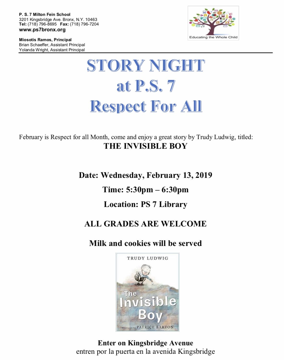Story Night Flyer