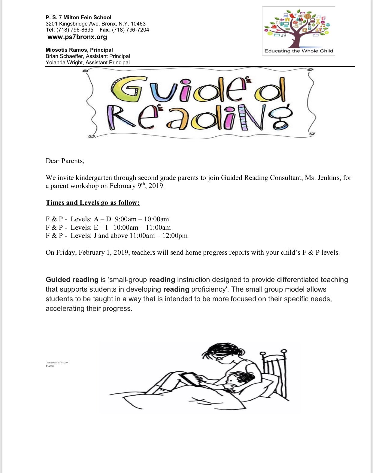 Guided Reading Flyer