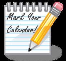 mark your calendar image