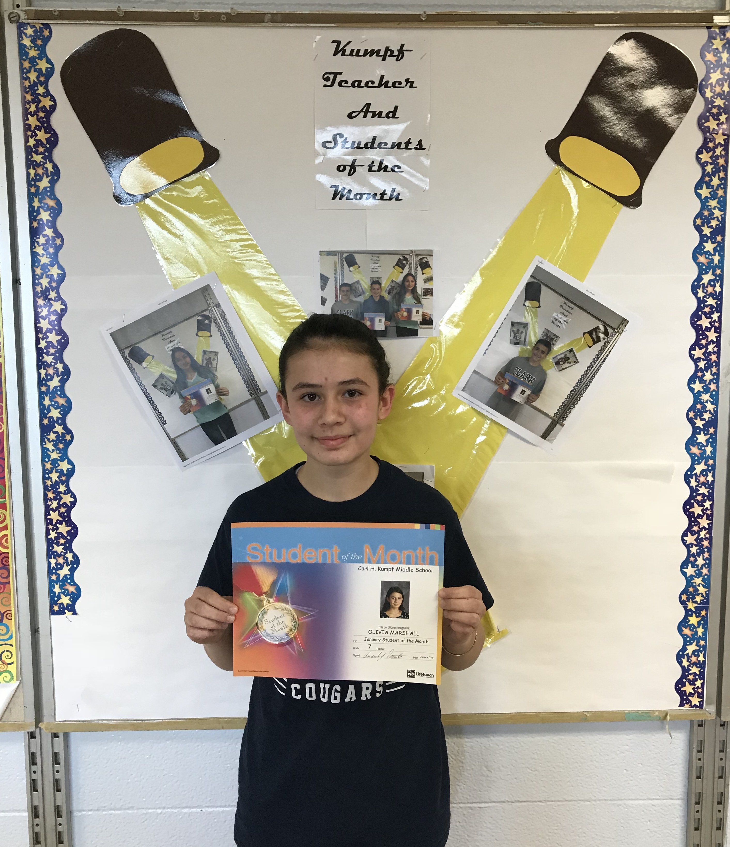 Middle School Hal Monthly News: Carl H. Kumpf Middle School
