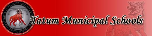 Tatum Municipal Schools Home Page