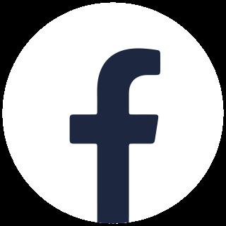 Facebook logo Black and White
